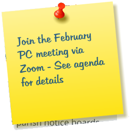 Join the February PC meeting via Zoom - See agenda for details