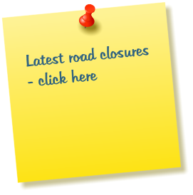 Latest road closures - click here