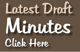 Latest Draft Minutes Click Here