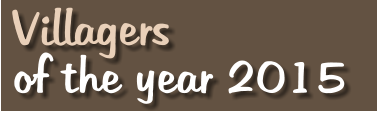 Villagers of the year 2015
