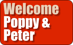Welcome Poppy & Peter