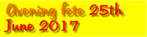 Avening fete 25th June 2017